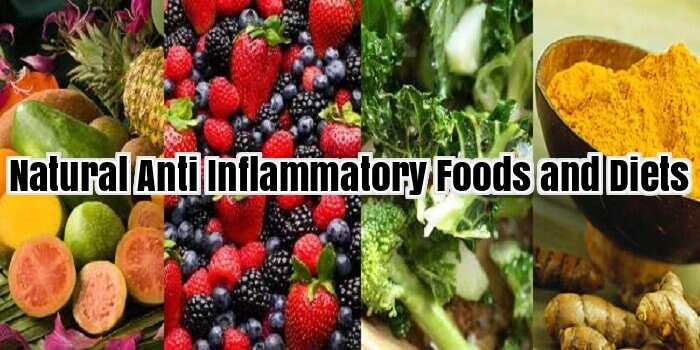 Natural Anti Inflammatory Foods and Diets